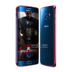 Captain America Samsung Galaxy S6 Edge Marvel Edition