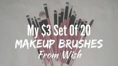 YAY my makeup brushes from #wish arrived and I am so happy. I've been watching those Youtube videos on how to blend eyeshadow like a pro and I needed more brushes... they cost a ton in most stores but I got a set of 20 for $3 including delivery fees!   #makeupbrushes #blendingeyeshadow #set20makeupbrushes #myonlinepurchases #myonlineshopping #wishapp #wishshopping Wish App, Blending Eyeshadow, Stay Young, Live For Yourself, Diy Fashion, Makeup Brushes, Gifts For Mom, Makeup Tips, Bobby Pins