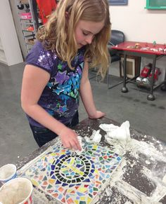 Celebrate Youth Art Month in Wichita, KS! Photo courtesy of CityArts.  This is a fun craft all kids will love!