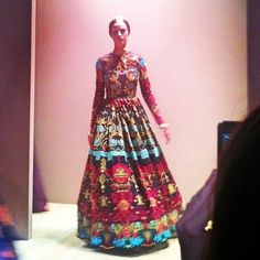 Opulent prints at Maison Valentino #ss14 #pfw #fashionweek