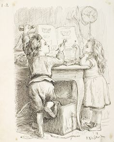 Little girl spanking her doll's botty   Lorenz Frølich   1868   Statens Museum…