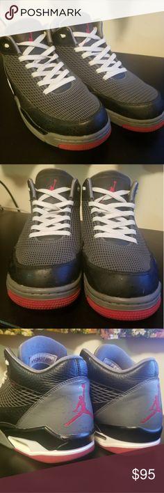 2df124bb903 Air Jordan Flight Club 80s Flight Black size 9.5 Air Jordan Flight Club 80s  599583- · Black Basketball ShoesFlight ...