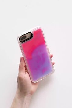 Casetify Neon Sands Hotline Glow-In-The-Dark iPhone Case Order Up, Mineral Oil, Casetify, Cleaning Wipes, The Darkest, Glow, Iphone Cases, Sands, Urban Outfitters