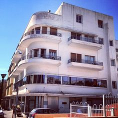 1920's Bauhaus in Tel Aviv