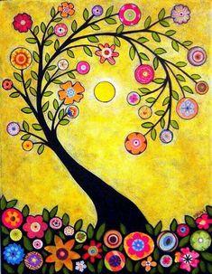 Image result for jewish folk art simple