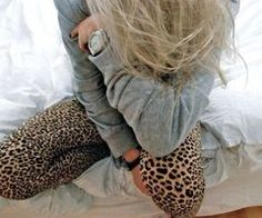 cheetah print leggings...