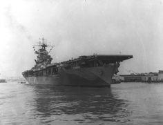 USS Wasp CV-7   June 3, 1942: USS Wasp CV-7 at the Norfolk Naval Shipyard, Portsmouth ...