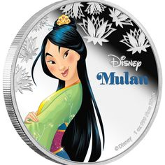Buy the Disney Princess – Mulan 2016 1oz Silver Proof Coin from The Perth Mint, featuring Disney Princess – Mulan 2016 1oz Silver Proof Coin. No more than 10,000 of the Disney Princess – Mulan 2016 1oz Silver Proof Coin will be released. | eBay!