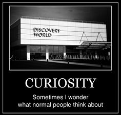 """INTJ - Curiosity """"What is it like in your funny little brains?"""""""