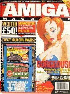 CU Amiga Issue 62 Create Yourself, Create Your Own, Magazines, Comic Books, Cover, Journals, Cartoons, Comics, Comic Book