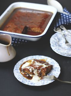 The Best Sticky Date Pudding - made pudding and used sauce recipe from sticky toffee pudding recipe Pudding Recipes, Cake Recipes, Dessert Recipes, Pudding Desserts, Tofu Recipes, Recipies, Just Desserts, Delicious Desserts, Yummy Food