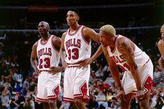 Michael Jordan Scottie Pippen Dennis Rodman