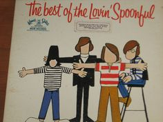 Classic Rock Band The Lovin' Spoonful 33 by TrailBlazerRetroShop