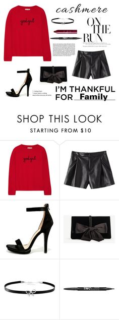 """""""Untitled #393"""" by taissasilva ❤ liked on Polyvore featuring Chinti and Parker, Wild Diva, Ann Taylor, Giani Bernini, Charlotte Russe, tarte and imthankfulfor"""