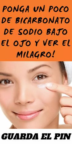 Ponga un poco de bicarbonato de sodio Bajo el ojo y ver el milagro! Beauty Care, Beauty Makeup, Hair Beauty, Beauty Secrets, Beauty Hacks, Fashion And Beauty Tips, Stress, Tips Belleza, Beauty Quotes