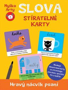 Myška Arty - Slova - stíratelné karty
