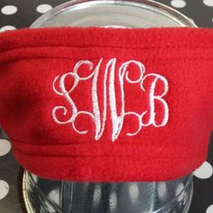 Check out this item in my Etsy shop https://www.etsy.com/listing/211397360/boutique-fleece-monogrammed-headband