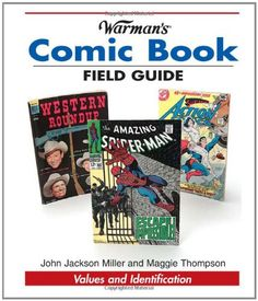 Warmans Comic Book Field Guide: Values and Identification (Warmans Field Guides) @ niftywarehouse.com #NiftyWarehouse #Superman #DC #Comics #ComicBooks