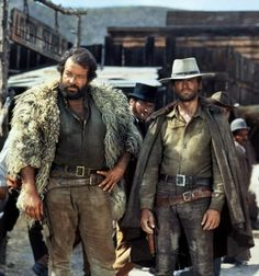 Bud Spencer & Terrence Hill.