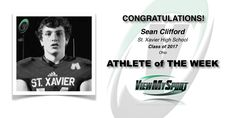 Congratulations to this week's ViewMySport ATHLETE of THE WEEK - SEAN CLIFFORD - Football (Quarterback) - Class of 2017 - St. Xavier High School (OH)... GREAT JOB SEAN!  https://www.viewmysport.com/r-812-sean-clifford-football  ViewMySport.com - Your #1 College Sports Recruiting &  Scholarship Networking Resource!