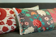 Custom Recycled Fabric Pillows #Pillow #upcycle #colours #custom http://www.evelikesgreen.ca/home