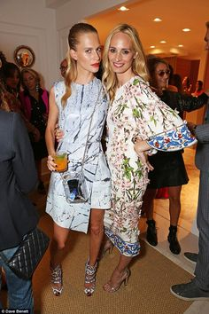 Lauren Santo Domingo & Poppy Delevingne