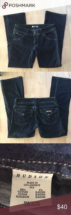 Hudson jeans boot cut Sz 30 Hudson jeans Sz 30 inseam 27 boot cut 😍excellent condition 98 cotton 2 elastin Hudson Jeans Jeans Boot Cut