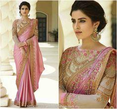 Indian pakistani bollywood new Designer Saree Wedding Party wear Lehenga Sari Saree Wedding, Wedding Wear, India Wedding, Ethnic Wedding, Sari Rose, Indische Sarees, Sari Design, Party Kleidung, Indian Outfits