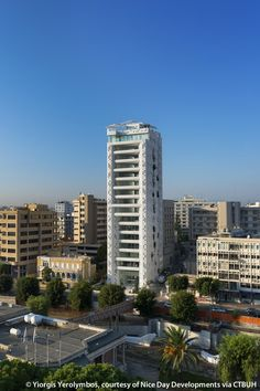 The White Walls, Nicosia, Cyprus - Best Tall Building Europe 2016 Winner