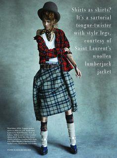 Vogue UK August 2013