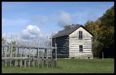 Detweiler Log Home -Mackinaw City's Heritage Village lets visitors explore life in the Straits of Mackinac as it was in the late 1800's and early 1900's.