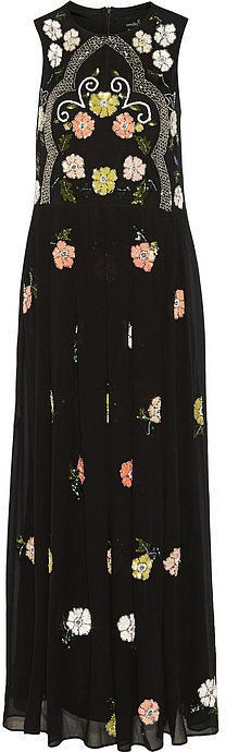 I just reacted to Needle & Thread Embellished Chiffon Maxi Dress. Check it out!