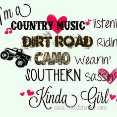 Country Girls do it best