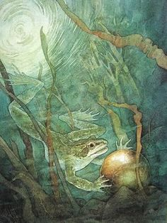 P.J. Lynch -- The Candlewick Book of Fairytales ...The Frog Prince