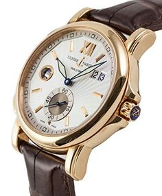 Ulysse Nardin GMT Dual Time swiss-automatic silver mens Watch