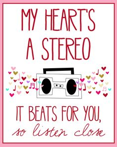 Stereo Hearts by Gym Class Heroes. I used to hate this song but I heard it again recently and realized how amazing the lyrics are.