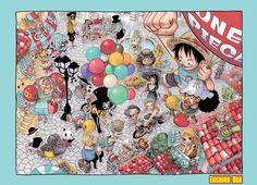 One Piece- Groupe à Paris