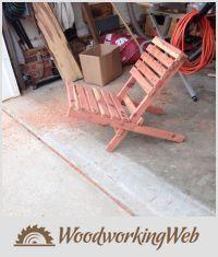 EDITOR'S CHOICE (01/20/2016) Bighig beach chair by Bill Higgins View details here: https://woodworkingweb.com/creations/2592-bighig-beach-chair