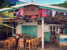 Top Party Spots in the Virgin Islands | Soggy Dollar Bar, Jost Van Dyke, BVI