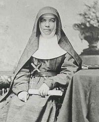 Mary MacKillop  Fighter for the poor and disenfranchised.   What would she do about the way Australia treats refugees?