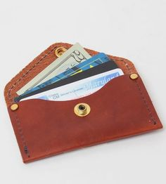 The Cassius Leather Card Holder by Treason Toting Co on Scoutmob Shoppe