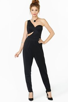 Deviate Jumpsuit is so cute!!! But it would not work on this petite frame..