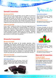 Brochure de Noël à Carry le Rouet