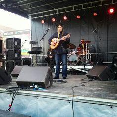 #attacafa #festivaldelasoupe #louche d'or en pleines balances pour le concert de Kamel Igman place de Wazemmes aijourdhui a 16h