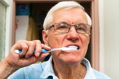 Clinical evidence reveals that the frequency of oral health problems increases significantly in cognitively impaired older people. #oralhealth #seniors