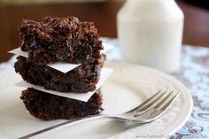 Vegan-Flourless-Zucchini-Brownies