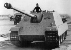 Versuchs-Jagdpanther (V-101), prototype of the Jagdpanther circa 1943.