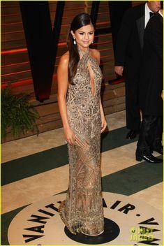 Selena Gomez: GOLDEN at the Vanity Fair Oscars Party 2014! | 2014 Oscars, Selena Gomez Photos | Just Jared