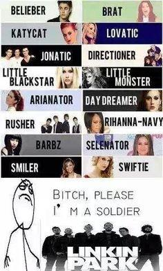 Imma' soldier! #badass #soldier #linkinparkislove
