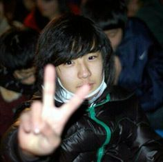 Chanyeol predebut photo. Cute! ♥♥